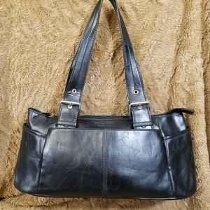 KENNETH COLE REACTION HANDBAG BLACK